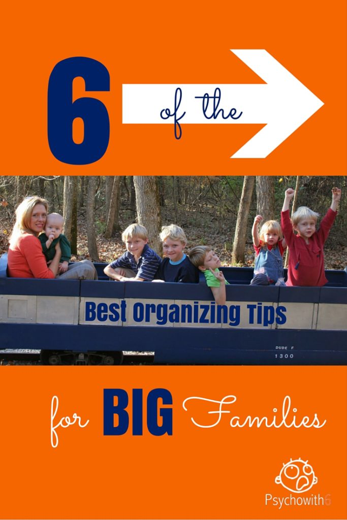 6 of the best organizing tips for families