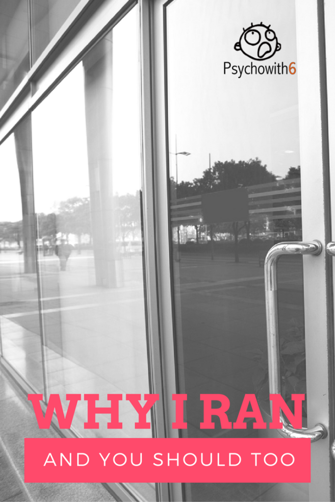 Why I Ran & You Should Too