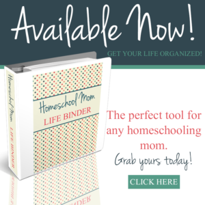 Homeschool Mom Life Binders