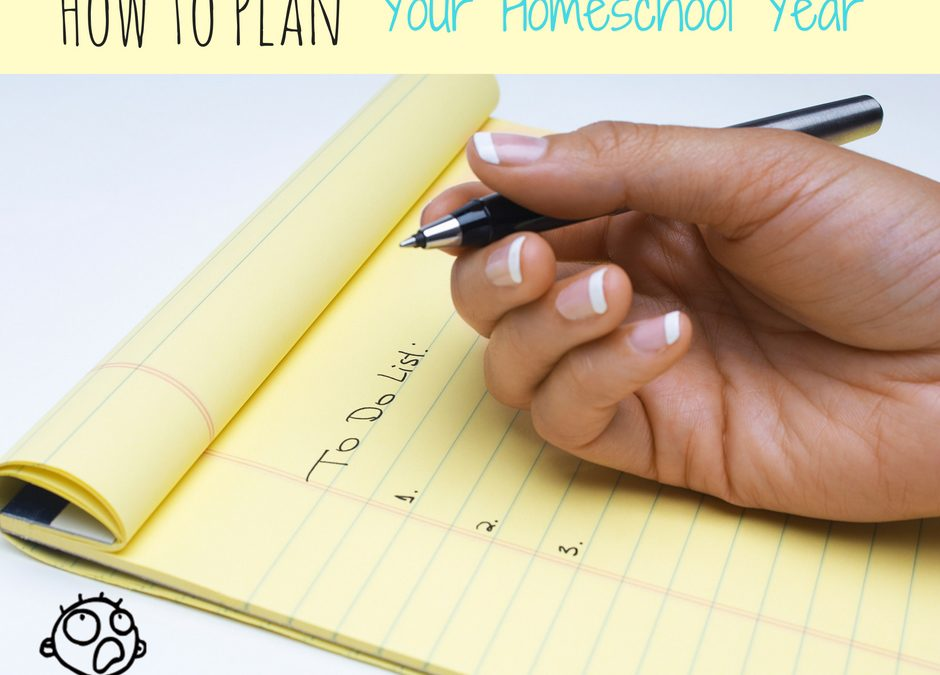 3 Simple Strategies for Planning Your Best Homeschool Year