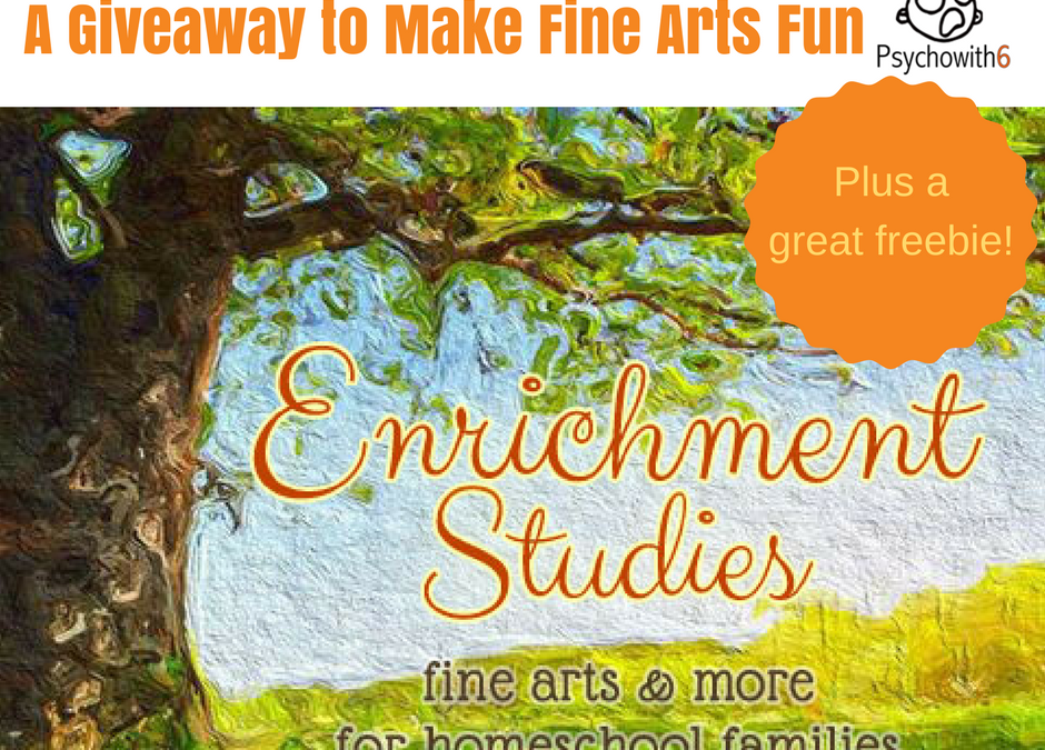A Giveaway that Will Make Fine Art Learning Fun (Plus a Freebie)