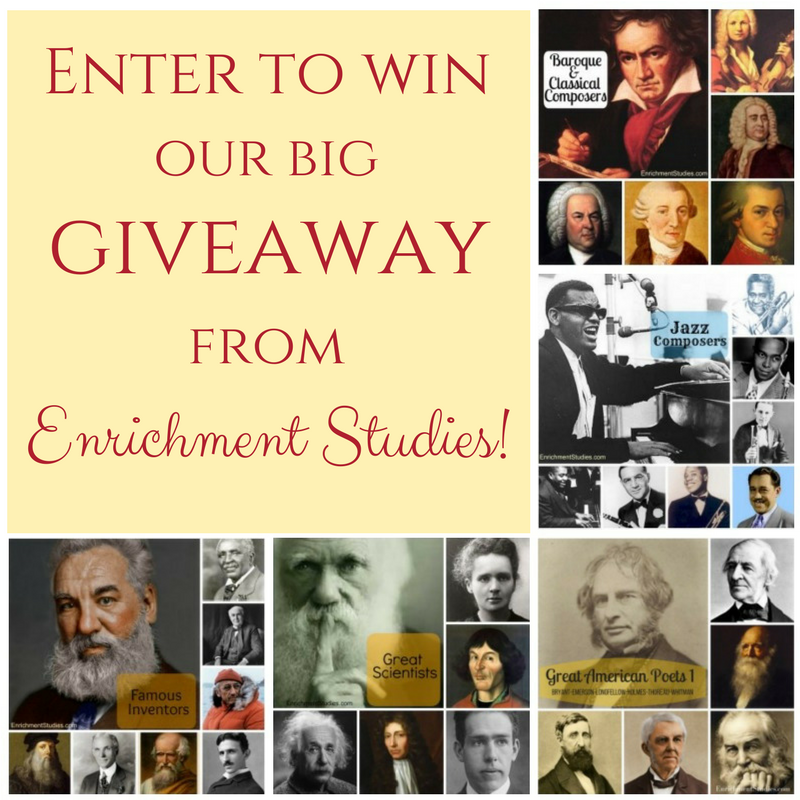 Giveaway from Enrichment Studies