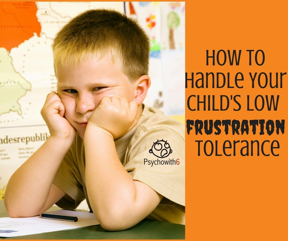 Frustration Tolerance Solutions
